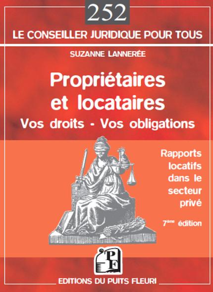 Propriétaires et locataires - Vos droits, vos obligations