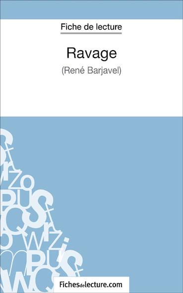 Ravage de René Barjavel (fiche de lecture : résumé et analyse)