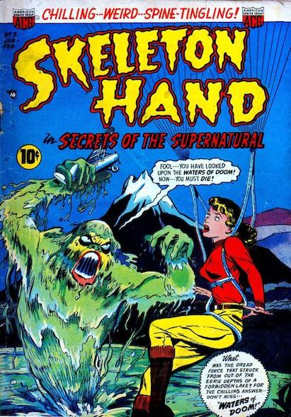 Skeleton Hand N°3