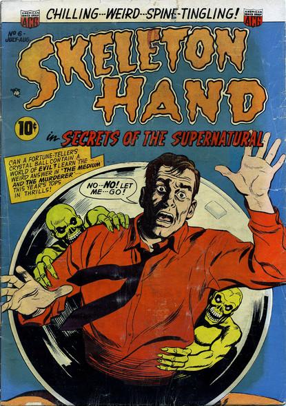 Skeleton Hand N°6