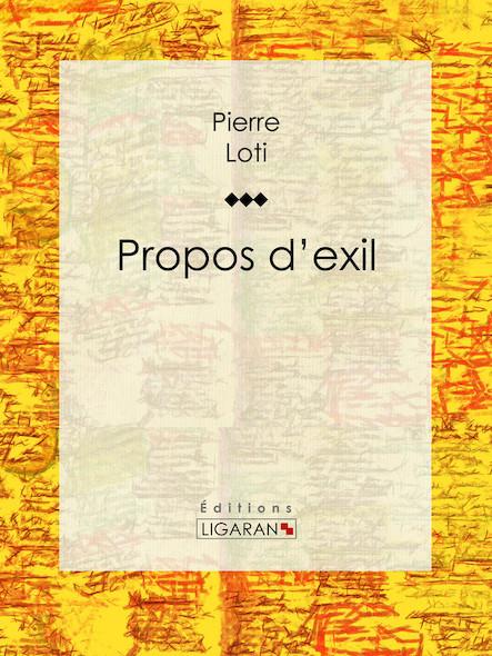 Propos d'exil