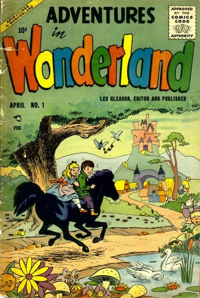 Adventures in Wonderland N°1