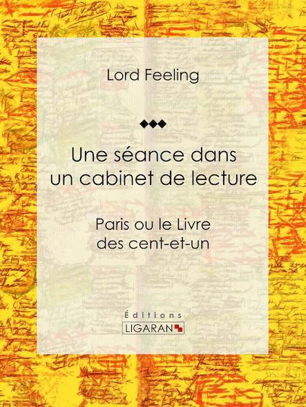 Une séance dans un cabinet de lecture, Paris ou le Livre des cent-et-un
