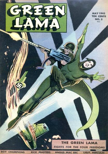 Green Lama N°3