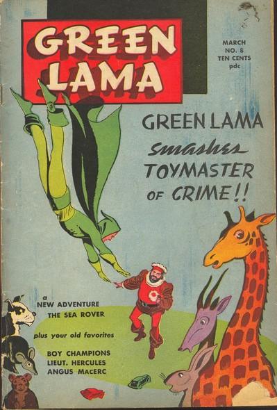 Green Lama N°5