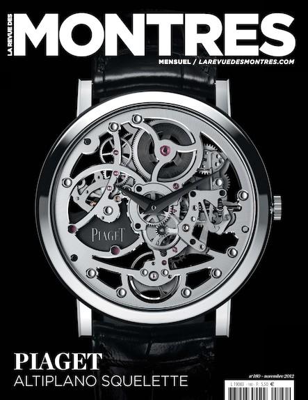 Revue des montres N°180 - Novembre 2012
