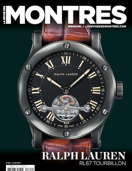Revue des montres N°184 - Avril 2013