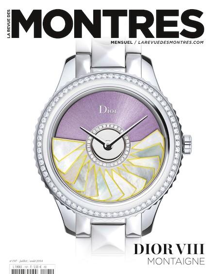 Revue des montres N°197 - Juillet / Août 2014
