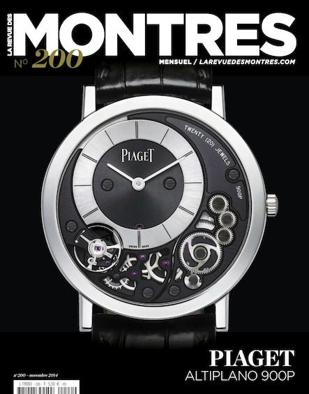 Revue des montres N°200 - Novembre 2014
