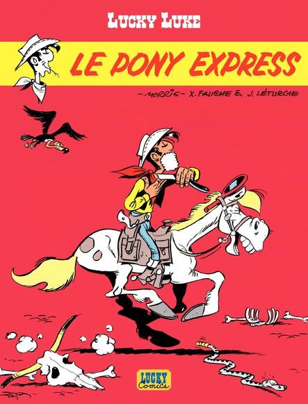 Lucky Luke. Le Pony Express
