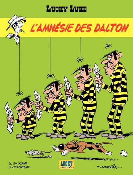 Lucky Luke. L'Amnésie des Dalton