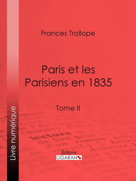 Paris et les Parisiens  en 1835 II