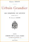Urbain Grandier et les Possédées de Loudun : La vérité sur l'affaire de la possession du couvent des Ursulines au XVIIe siècle