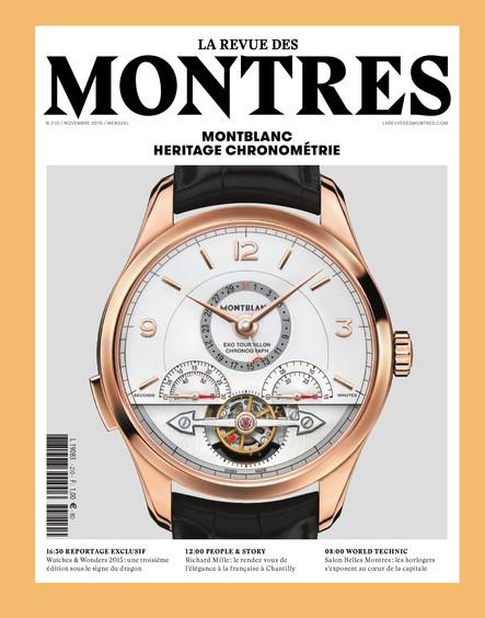 Revue des montres N°210 - Novembre 2015