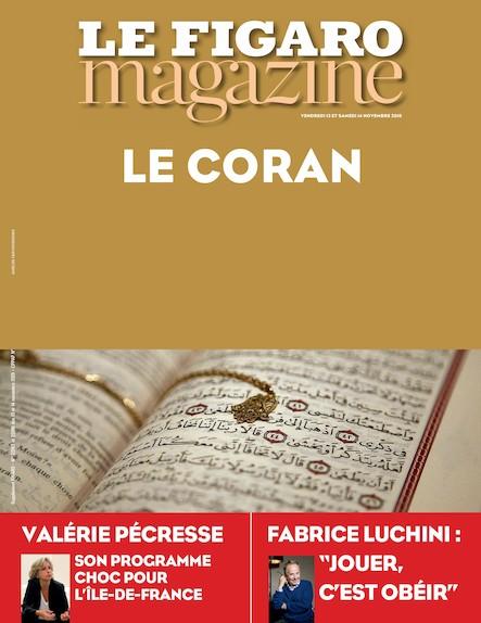 Le Figaro Magazine -  Novembre 2015 : Le Coran