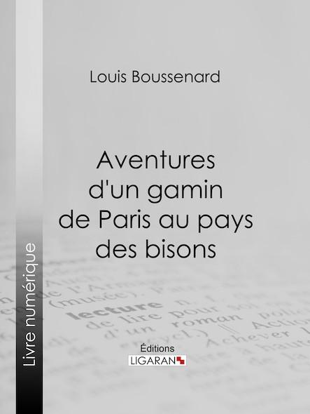 Aventures d'un gamin de Paris au pays des bisons