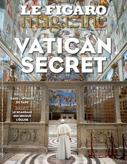Le Figaro Magazine - Janvier 2016 : Les Secrets du Vatican