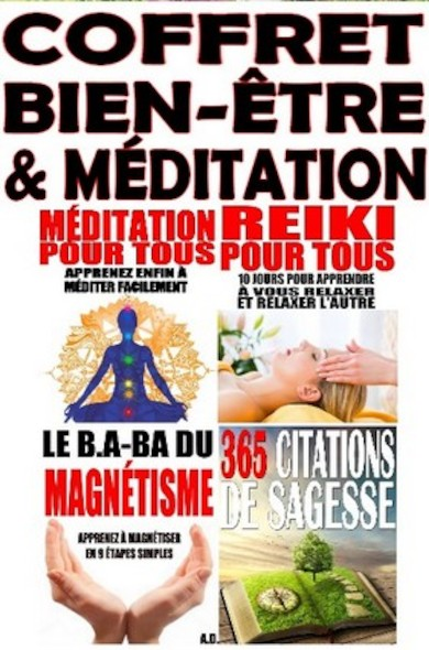 Coffret Bien-Être & Méditation
