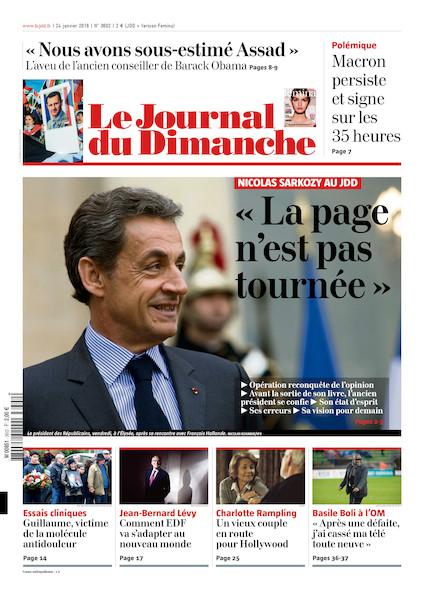 Journal du Dimanche - 24 janvier 2016