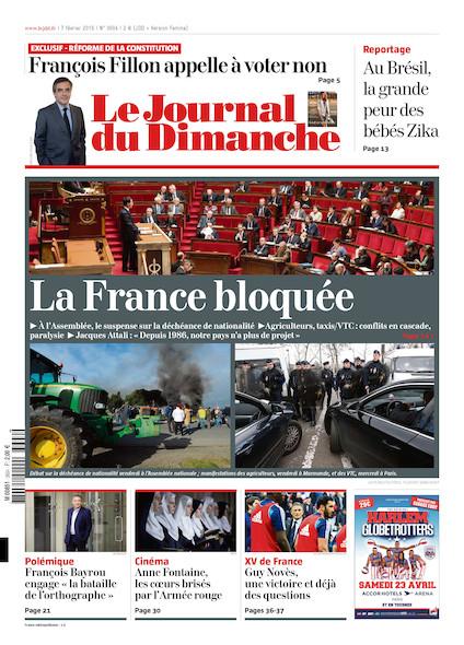 Journal du Dimanche - 7 Février 2016