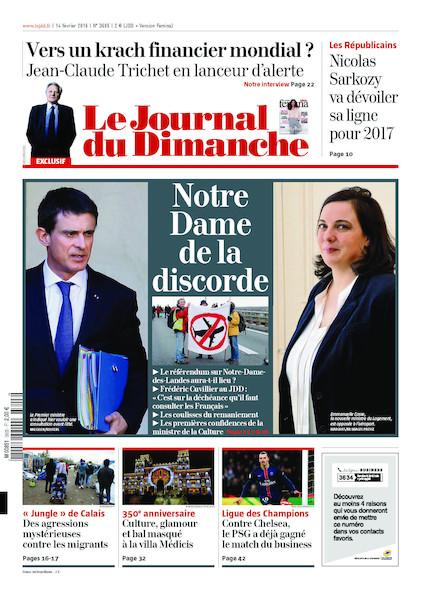 Journal du Dimanche - 14 Février 2016
