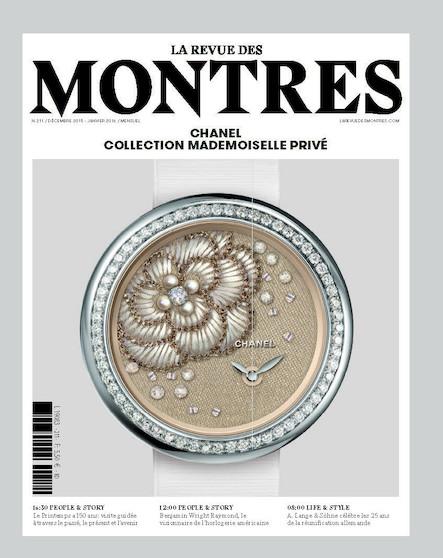 Revue des montres N°211 - Janvier 2016