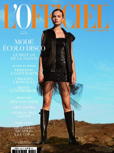 L'Officiel Mode et Couture - N°1002 - Janvier 2016