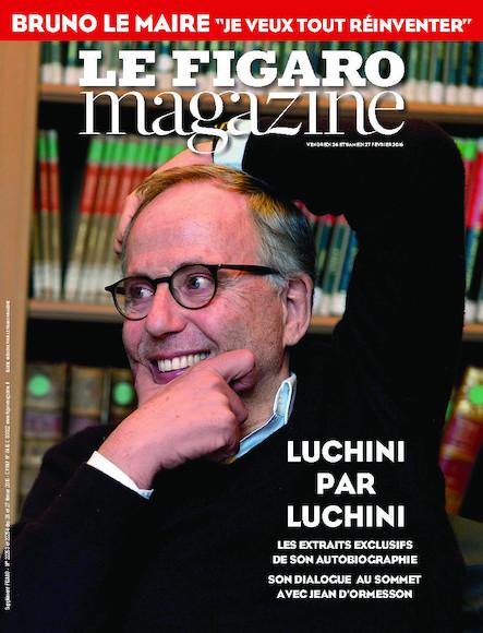 Le Figaro Magazine - Février 2016 : Luchini par Luchini