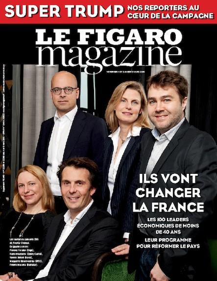 Le Figaro Magazine - Mars 2016 : Ils vont changer la France