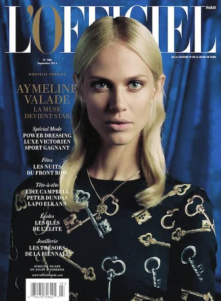 L'Officiel Mode et Couture - N°988 - Novembre 2014
