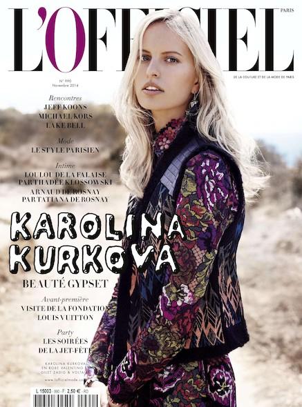 L'Officiel Mode et Couture - N°990 - Janvier 2015