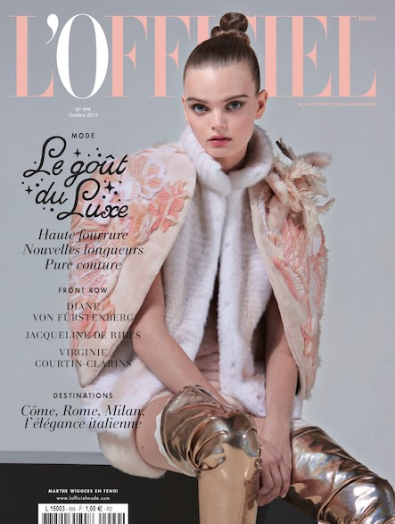 L'Officiel Mode et Couture - N°999 - Octobre 2015