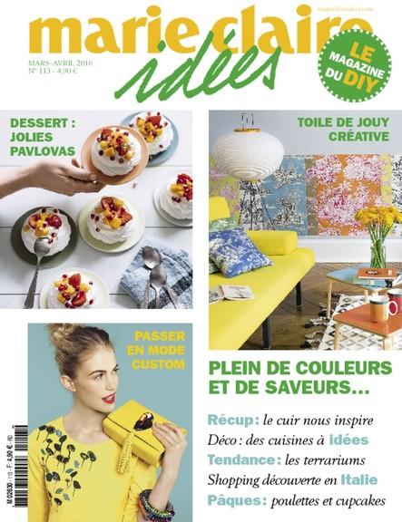 Marie Claire Idées - Mars/Avril 2016