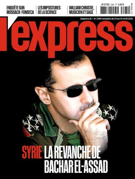 L'Express - Avril 2016 - La Revanche de Bachar Al-Assad