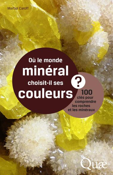 Où le monde minéral choisit-il ses couleurs ? : 100 clés pour comprendre roches et minéraux