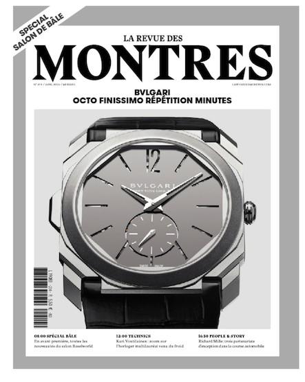 Revue des montres N°214 - Avril 2016