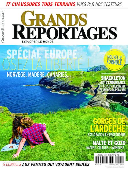 Grands Reportages - Mai 2016