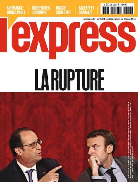 L'Express - Mai 2016 - La Rupture