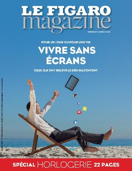 Le Figaro Magazine - Mai 2016 : Vivre sans écrans