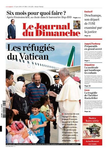 Journal du Dimanche – 17 Avril 2016