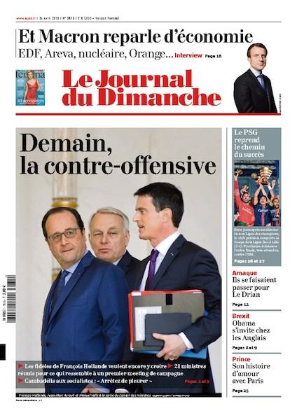 Journal du Dimanche – 24 Avril 2016
