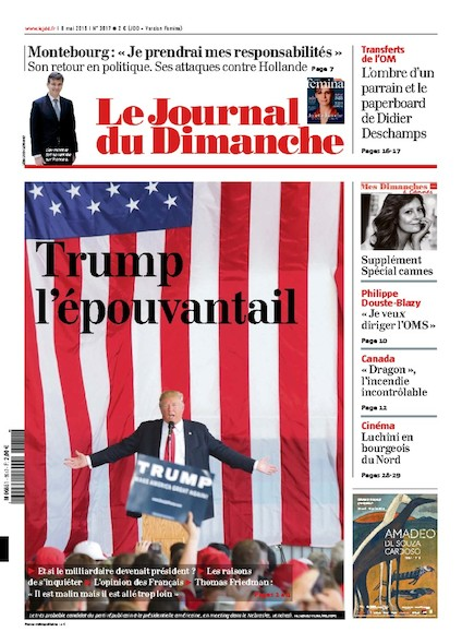 Journal du Dimanche – 8 Mai 2016
