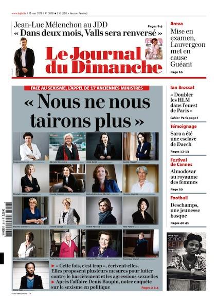 Journal du Dimanche – 15 Mai 2016