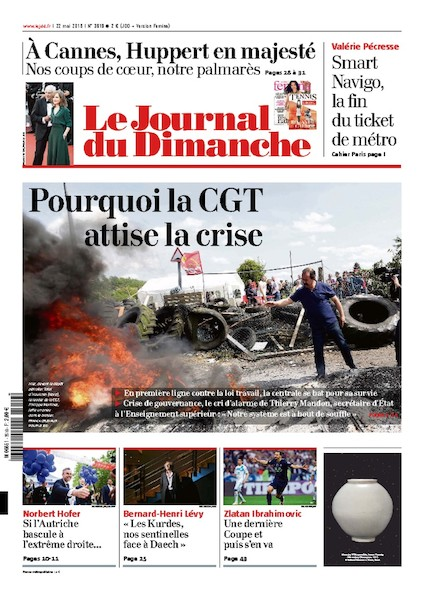 Journal du Dimanche - 22 mai 2016