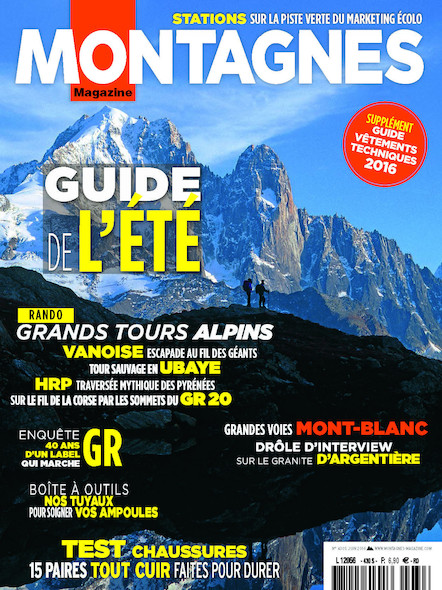 Montagnes magazine - Juin 2016