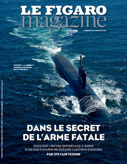 Le Figaro Magazine - Mai 2016 : Dans le secret de l'arme fatale