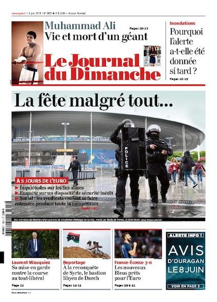 Journal du Dimanche - 5 juin 2016