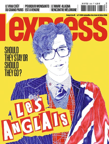 L'Express - Juin 2016 - Les Anglais : Should they stay or should they go ?