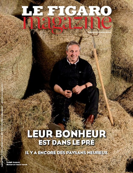 Le Figaro Magazine - Juin 2016 : Leur bonheur est dans le pré