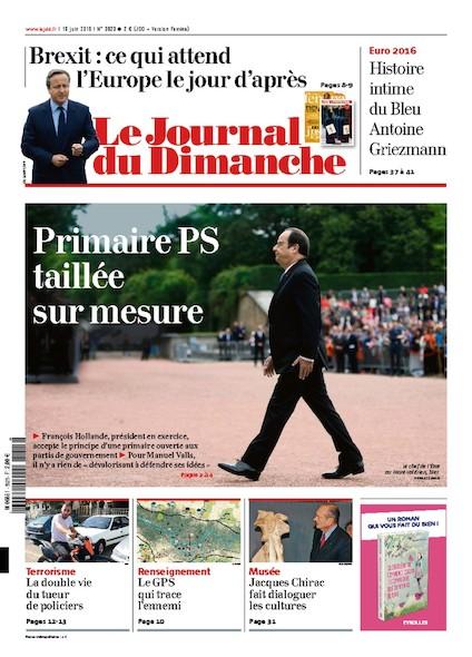Journal du Dimanche - 19 juin 2016